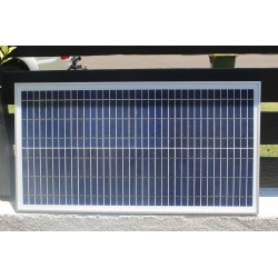 24V DC 30W Solar panel to suit swing or sliding Ahouse gate openers.