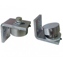 Swing Gate Ball Bearing Top & Bottom Hinges up to 800kg grease nipple