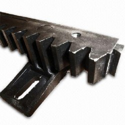 20mm Sliding gate gear rack with 6 lugs