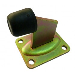 Swing or Sliding Gate Stopper Rubber Gal Steel Stop. Slide, Single/ Double Gates
