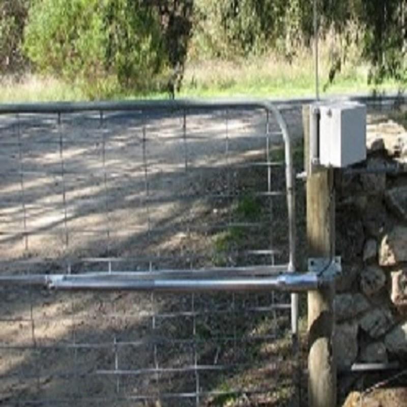 opener openers gate swing single powered solar
