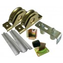 Sliding gate hardware kit