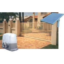 Solar Powered Sliding Gate Opener