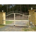 Premium Stainles Steel Double Swing Gate Opener