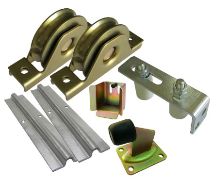 Sliding Gate Hardware Kit Wheels 2x3mtrack Gate Keeper