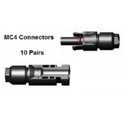 10 x MC4 Male & Female connector pair
