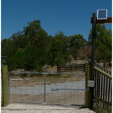 Solar Powered Single Swing Gate Opener